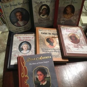 7 Dear America books